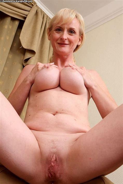 big fat grandma showing her nipples