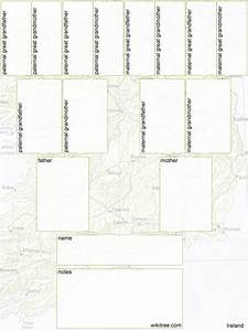 Free Printable Family Tree Diagrams