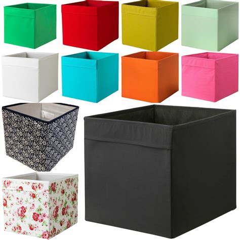 Kisten Ikea by New Ikea Drona Fabric Storage Box Basket For Expedit