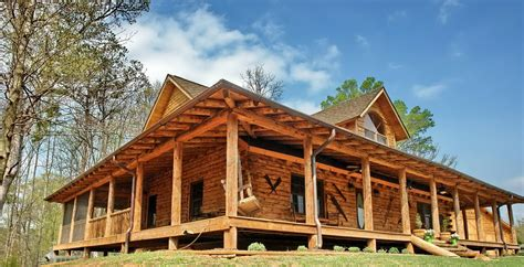 wrap around porch home plans log cabin house plans wrap around porch escortsea