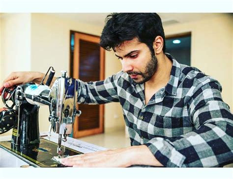 Varun In Preparations Mode For 'sui Dhaaga
