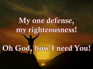 Lord, I Need You w/ lyrics By Matt Maher - YouTube Couldn ...