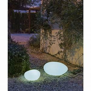 Lampe De Jardin : lampe de jardin ext rieure petra e27 15 w 800 lm blanc newgarden leroy merlin ~ Teatrodelosmanantiales.com Idées de Décoration