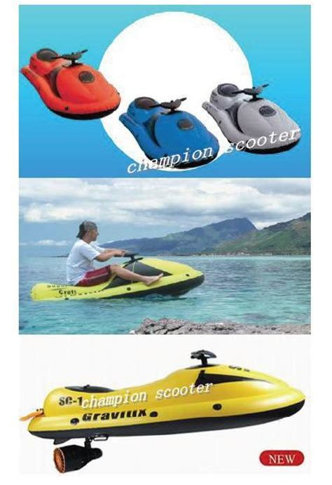 Inflatable Electric Water Scooter by China Electric Sea Scooter Inflatable Water Scooter