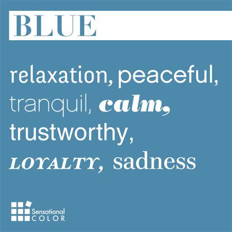 meaning of color blue blue archives sensational color