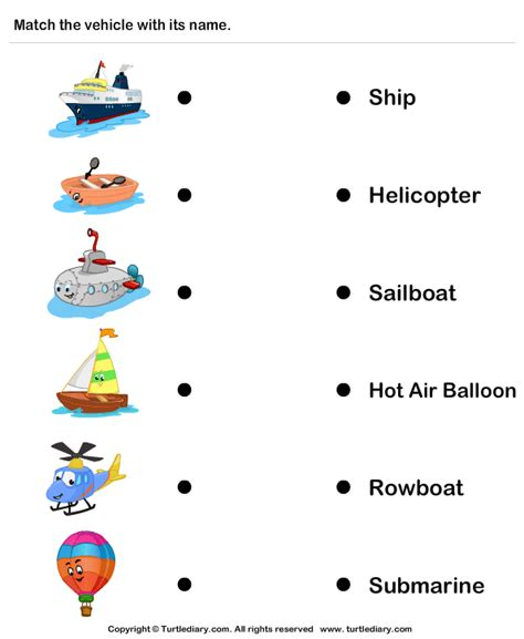 ship helicopter worksheet turtle diary