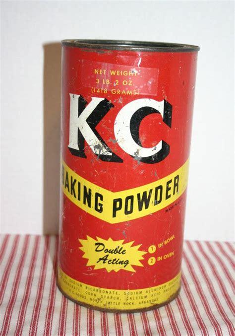 baking powder for sale kc baking powder vintage tin can 3 lb 2 oz vintage