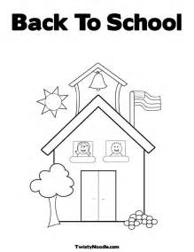 Back to School Coloring Pages Printable Free