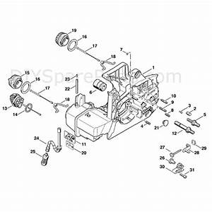 Stihl Ms 390 Chainsaw  Ms390  Parts Diagram  Engine Housing