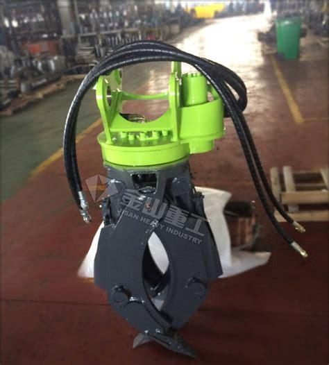 excavator attachments hydraulic log grapple bobcat  log grab  mini digger