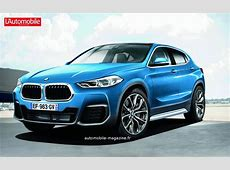 Future BMW X2 gets rendered again