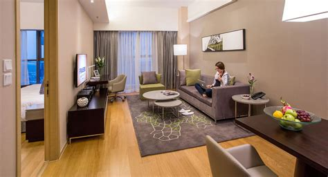 Luxury Studio Apartment by Luxury Studio Two Bedroom Apartments Tianjin Fraser Place