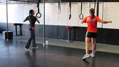 crossfit nlp dynamic stretching warmup youtube