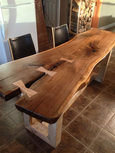 edge dining table google search woodworking
