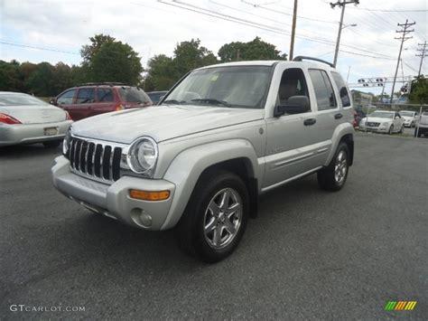jeep liberty limited 2004 bright silver metallic 2004 jeep liberty limited 4x4