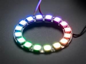 Neopixel ring 16 WS2812 RGB - Led Alfieri Mauro Elettronica
