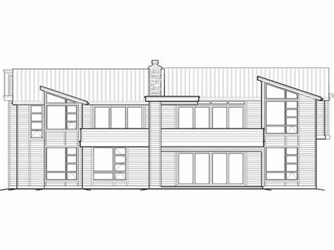 Modern Style House Plan 4 Beds 3 5 Baths 4600 Sq/Ft Plan