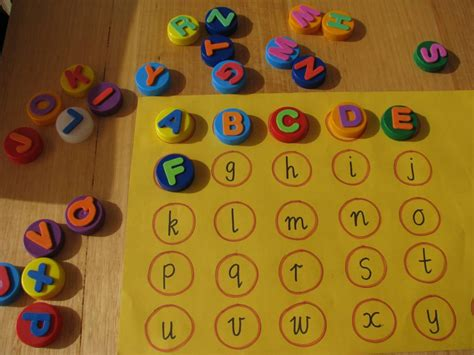 preschool alphabet game alphabet match learning 4 985