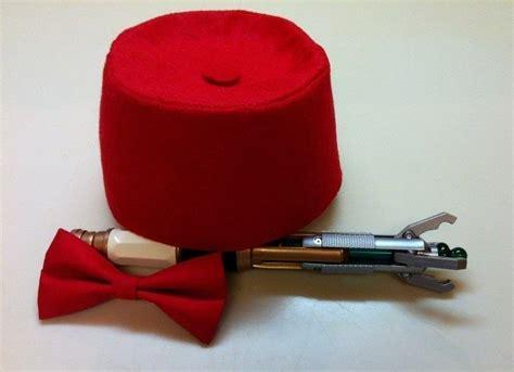 doctors fez  bow tie  fez sewing  cut