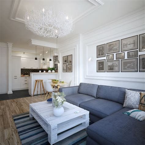Modern Zoning In Ukrainian Apartment by Apartment In Ukraine Visualized