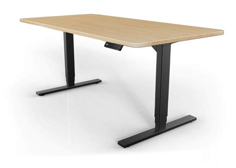 motorized adjustable height desk s2s electric stand up desk