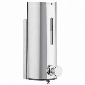 Seifenspender Wand Sensor : wandseifenspender varis verchromt wandmontage seifenspender seifomat ~ Watch28wear.com Haus und Dekorationen