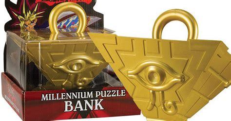 yu gi  millennium puzzle bank shut     yen