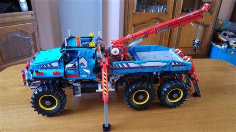 lego technic 42070 6x6 tout terrain modifier