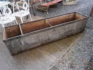 antiques atlas galvanised water trough