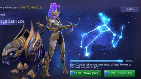 zodiac skin event worth  mobile legends youtube