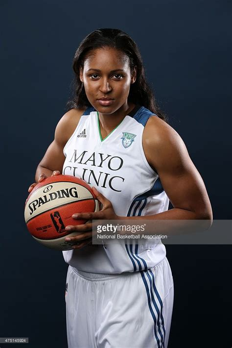 Maya Moore of the Minnesota Lynx poses for a headshot ...