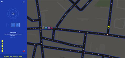 You Can Play Pac Man Inside Google Maps From Mobile