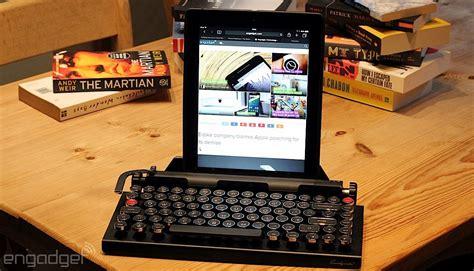 qwerkywriters retro ipad keyboard   flawed masterpiece engadget