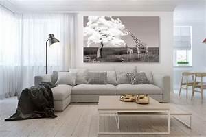 Tableau Moderne Salon : tableau africain girafes gourmandes blog izoa ~ Teatrodelosmanantiales.com Idées de Décoration