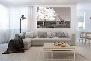 Tableau Salon Moderne : tableau africain girafes gourmandes blog izoa ~ Farleysfitness.com Idées de Décoration