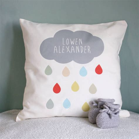 personalised cusion personalised cloud name cushion by modo creative