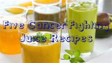 cancer juice recipes fighting juicer juices easy cleaning five