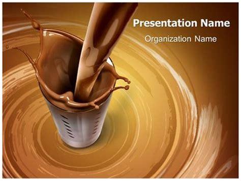 chocolate milk powerpoint template background