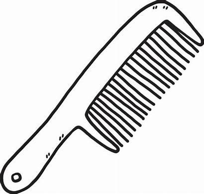 Comb Vector Clipart Clip Arts Barber Plastic
