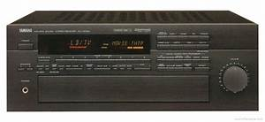 Yamaha Rx-v2090 - Manual - Audio Video Receiver