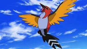 Pokemon Ash's Fletchling Evolves - YouTube