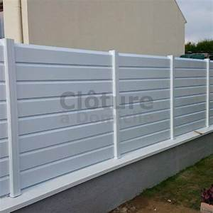 pack cloture pvc prete a installer With cloture en pvc pour jardin
