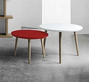 Table Basse Scandinave : table basse scandinave en bois massif brin d 39 ouest ~ Teatrodelosmanantiales.com Idées de Décoration