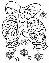 Coloring Mittens Pages Winter Colouring Mitten Christmas Jan Brett Gloves Printable Drawing Warm Rabbit Outline Printables Print Keep Hand Template sketch template