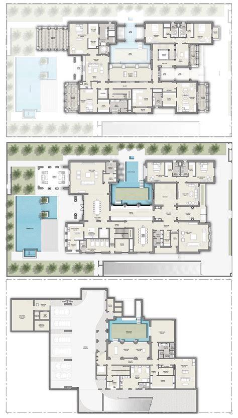 mansion floor plans district one dubai mansions mediterranean floor plans in