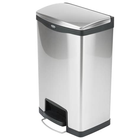 interior winsome stainless steel trash   gallon step