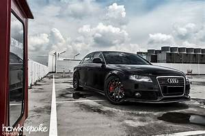 Black Pearl // Audi A4 on BC Forged
