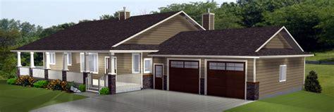 house plans bungalow with walkout basement walkout basements by e designs 1