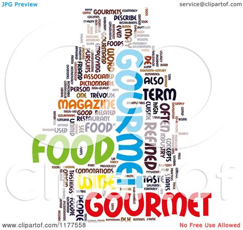 word for cuisine the word food clipart 58