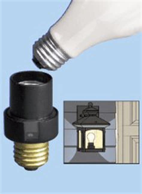 light sensor l socket outdoor light sensor socket carolwrightgifts com